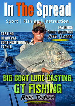 gt fishing lures casting in the spread videos